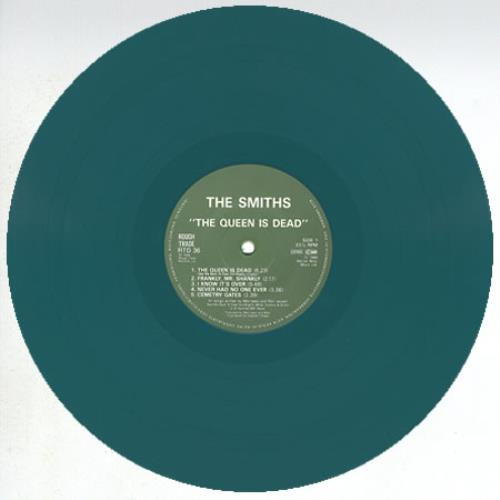 The Smiths The Queen Is Dead Green Vinyl German Vinyl Lp