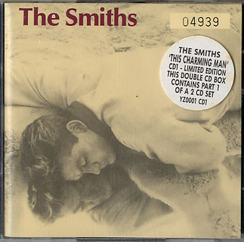 The Smiths This Charming Man Stickered Uk 2 Cd Single