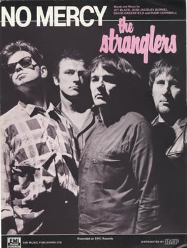 The Stranglers No Mercy Uk Sheet Music 378959 14159
