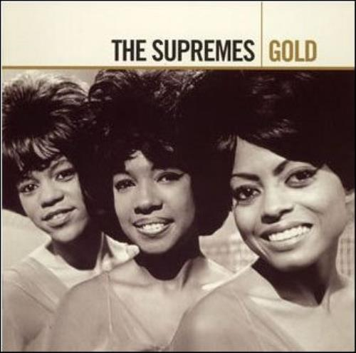 The Supremes Gold Uk 2 Cd Album Set Double Cd 397797