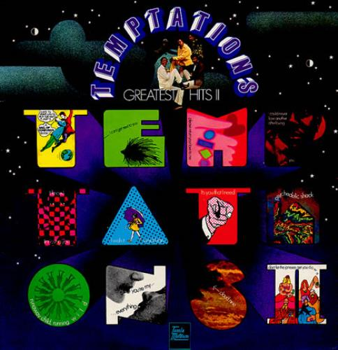 The Temptations Greatest Hits Ii Uk Vinyl Lp Album Lp