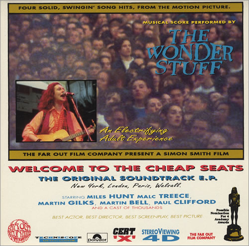 The Wonder Stuff Welcome To The Cheap Seats Ep Uk 7 Quot Vinyl