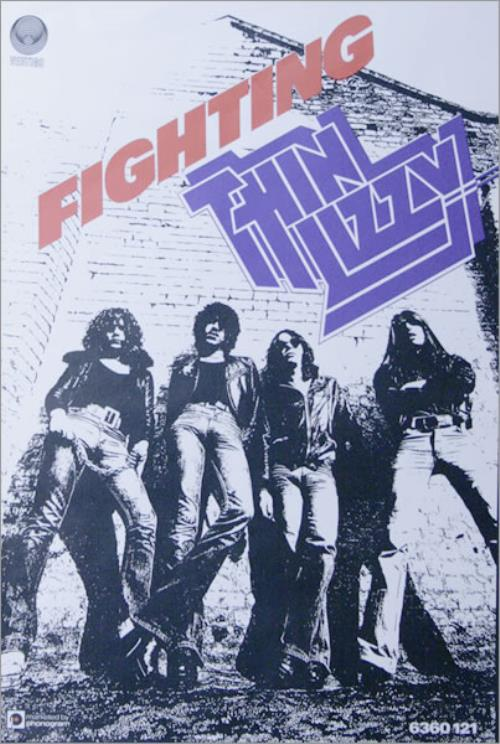 Thin Lizzy Fighting Uk Poster 514433