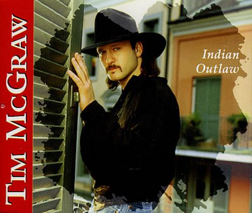 Tim Mcgraw Indian Outlaw Uk Cd Single Cd5 5 Quot 184104
