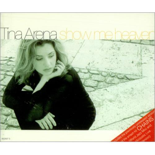 tina arena show me heaven austrian 2 cd single set double cd single 163350. Black Bedroom Furniture Sets. Home Design Ideas