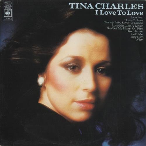 Tina Charles I Love To Love Uk Vinyl Lp Album Lp Record