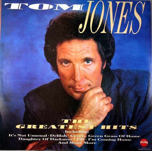 Tom Jones The Greatest Hits Uk Vinyl Lp Album Lp Record