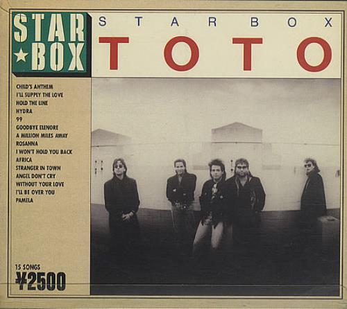 Toto Star Box Japanese Cd Album Cdlp 156035