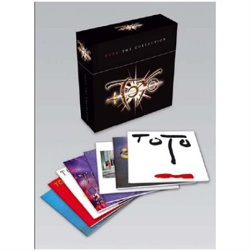 toto the collection sealed uk cd album box set 429694. Black Bedroom Furniture Sets. Home Design Ideas