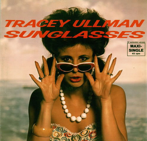 Sunglasses Tracey Ullman  tracey ullman sunglasses german 12 vinyl single 12 inch record
