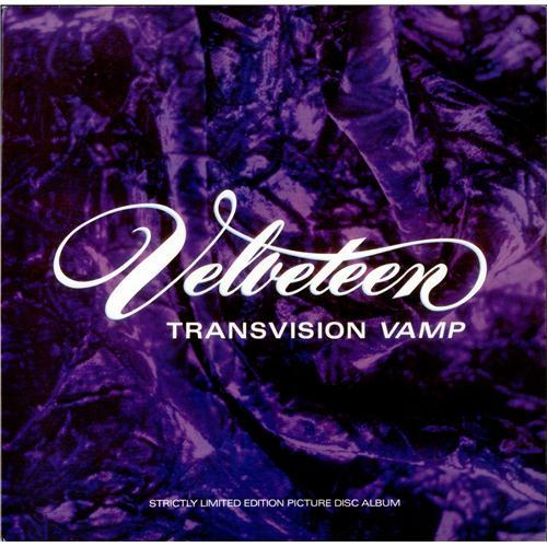 Transvision Vamp Velveteen Uk Picture Disc Lp Vinyl