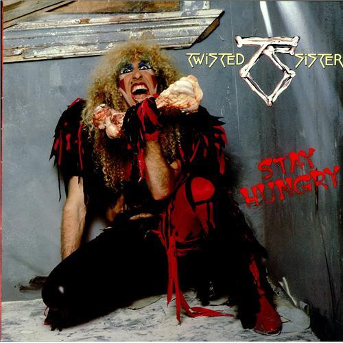 Twisted Sister Stay Hungry German Vinyl Lp Album Lp
