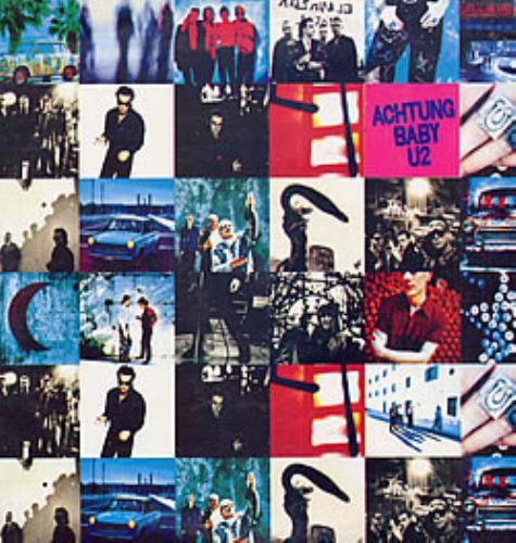 U2 Achtung Baby Colombian Vinyl Lp Album Lp Record 245058