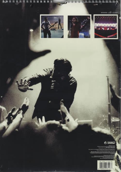 U2 Calendar 2003 UK calendar (225444) 127