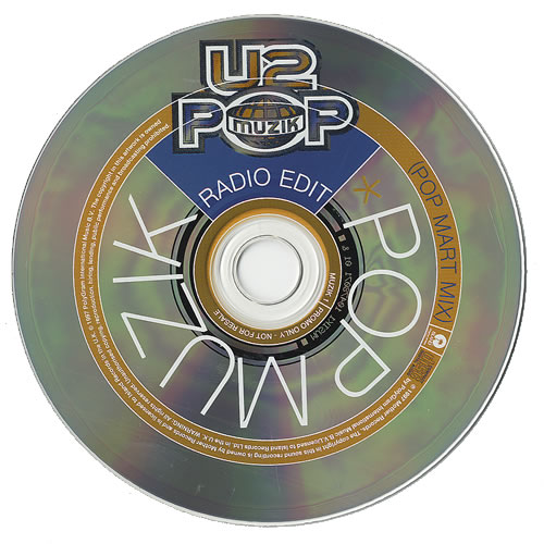 U2 Pop Muzik Uk Promo Cd Single Cd5 5 Quot 91538
