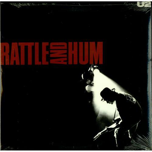 Αποτέλεσμα εικόνας για RATTLE AND HUM - U2 vinyl cover