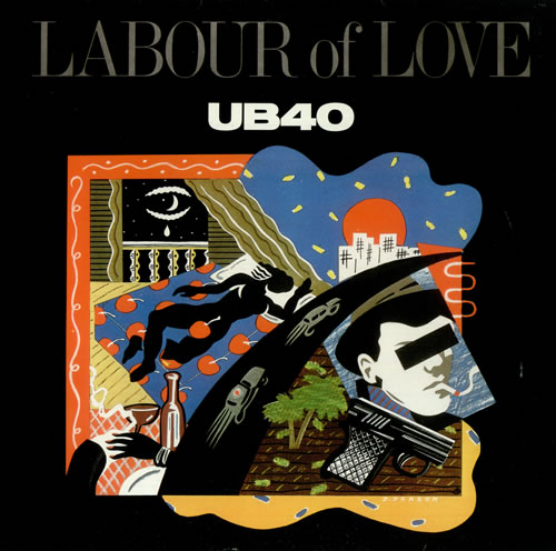 Ub40 Labour Of Love French Vinyl Lp Album Lp Record 445364