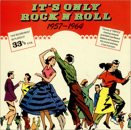 Various 50s Rock Amp Roll Rockabilly It S Only Rock N Roll