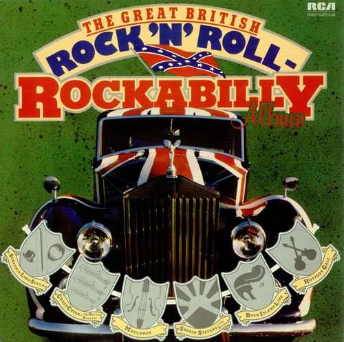 Various 50s Rock Amp Roll Rockabilly The Great British Rock
