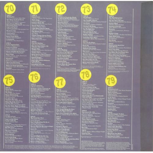 Various 60s Amp 70s The Sensational 70s Uk Vinyl Box Set