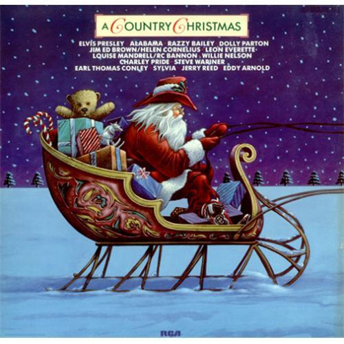 Various-Country A Country Christmas German vinyl LP album (LP ...