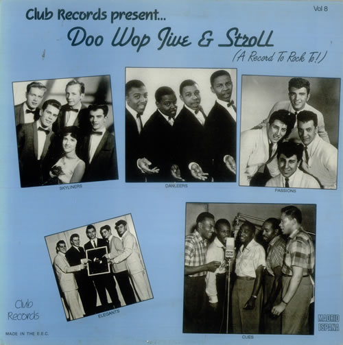 Various Doo Wop Amp Vocal Doo Wop Jive Amp Stroll Vol 8