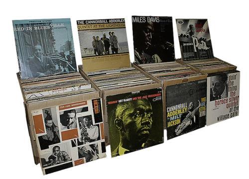 Various Jazz Collection Of 300 Jazz Records Us Vinyl Lp