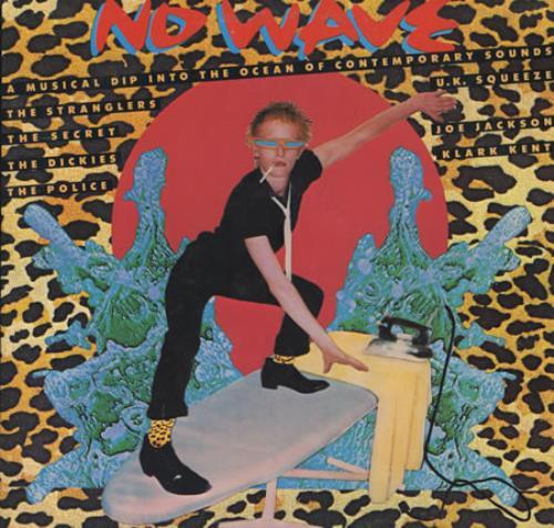 Various Punk Amp New Wave No Wave Clear Vinyl Us Vinyl Lp