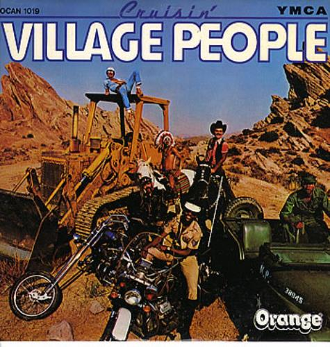 Village People Cruisin Israeli Vinyl Lp Album Lp Record