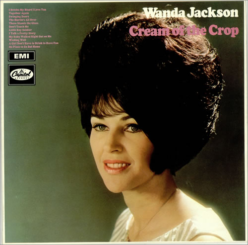Wanda Jackson Cream Of The Crop Uk Vinyl Lp Album Lp