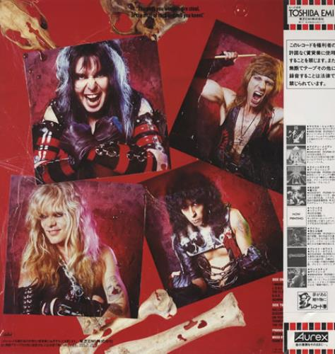 Wasp Wasp Poster Japanese Vinyl Lp Album Lp Record