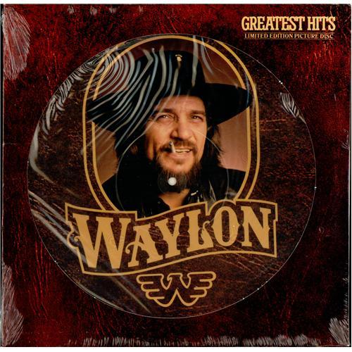 Waylon Jennings Greatest Hits Us Picture Disc Lp Vinyl