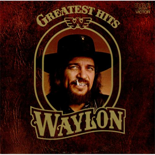 Waylon Jennings Greatest Hits Australian Vinyl Lp Album