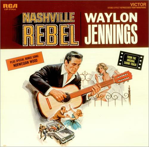 Waylon Jennings Nashville Rebel Us Vinyl Lp Album Lp