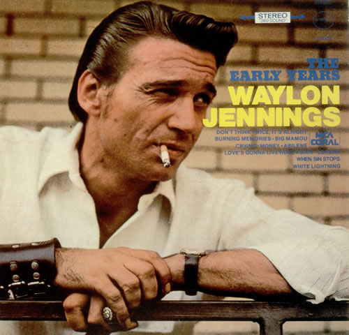 Waylon Jennings The Early Years Uk Vinyl Lp Album Lp