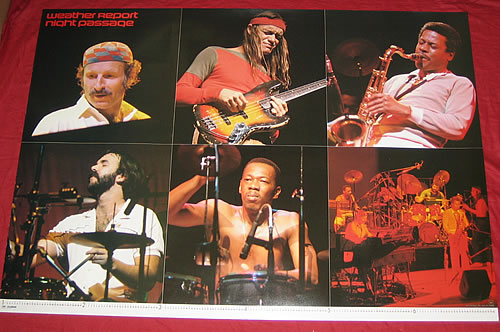 Weather Report Night Passage Japanese Promo Poster 350304