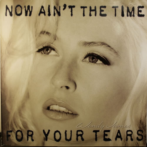 Wendy James Now Ain T The Time For Your Tears Uk Vinyl Lp