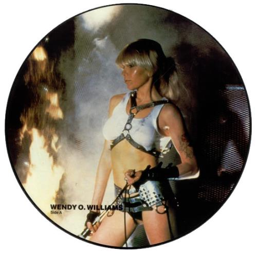Wendy O Williams W O W Uk Picture Disc Lp Vinyl Picture