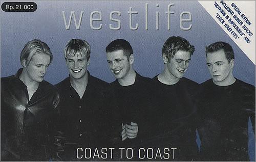 Coast to Coast Westlife album  Wikipedia