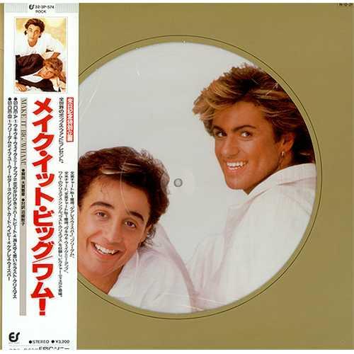 Wham Make It Big Japanese Picture Disc Lp Vinyl Picture