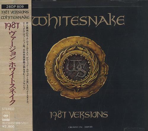 Whitesnake 1987 Versions Japanese Cd Single Cd5 5