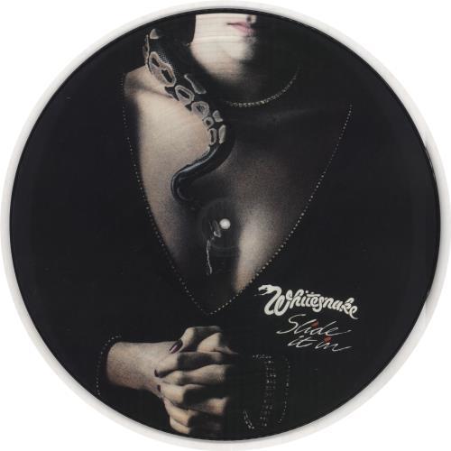 Whitesnake Slide It In Uk Picture Disc Lp Vinyl Picture