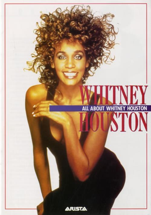 Whitney Houston Japanese Press Booklet Japanese Promo