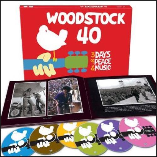 Woodstock 40th Anniversary Vinyl