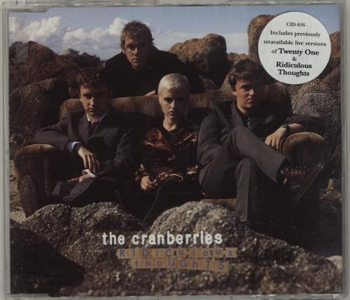 Click to view product details and reviews for The Cranberries Ridiculous Thoughts 1995 Uk Cd Single Cid616.
