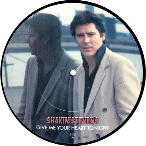 Shakin Stevens Give Me Your Heart Tonight Lpz Psz Produ