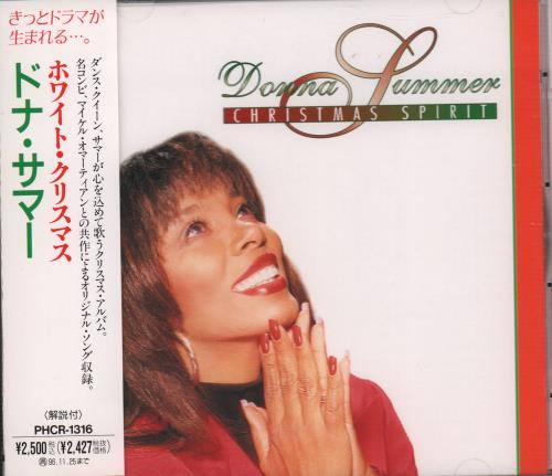 Click to view product details and reviews for Donna Summer Christmas Spirit 1994 Japanese Cd Album Phcr 1316.