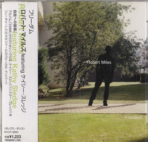 Click to view product details and reviews for Robert Miles Freedom 1998 Japanese Cd Single Bvcp 8895.