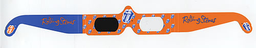 Click to view product details and reviews for Rolling Stones 3 D Glasses 2000 Usa Memorabilia 3 D Glasses.