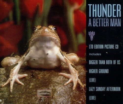 Click to view product details and reviews for Thunder A Better Man Picture 1993 Uk Cd Single Cdbetter1.